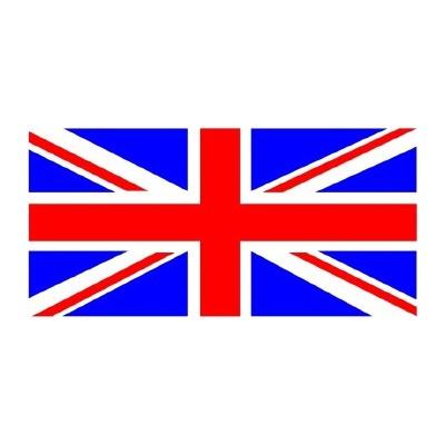 Union jack united kingdom flag decal sticker a