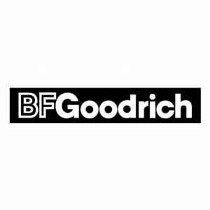 BF Goodrich car sticker