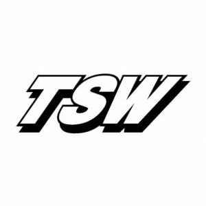 TSW car sticker