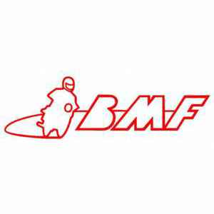 BMF car sticker