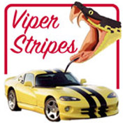 'Viper Stripes' from the web at 'http://stickers.signprint.co.uk/images/viperstripesheader.jpg'