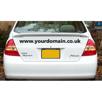 'Custom Car Sticker / Decal - Your choice of text' from the web at 'http://stickers.signprint.co.uk/images/webdecalnew.jpg'